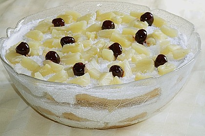 Ananas - Kokos Dessert
