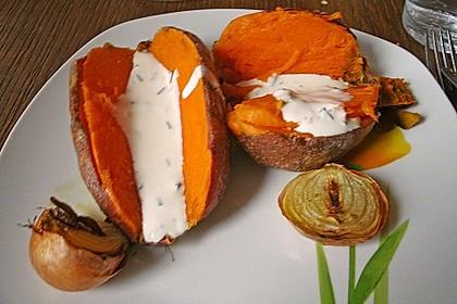 Gebackene Süßkartoffeln 2