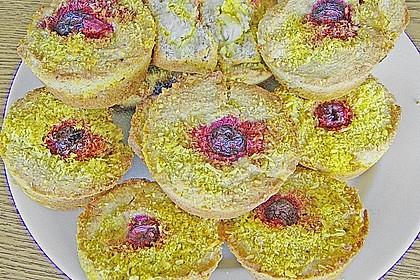 Gebackene Seelachsfilet - Muffins