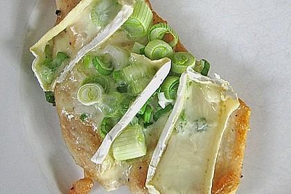 Überbackene Putenschnitzel mit Gemüsespaghetti