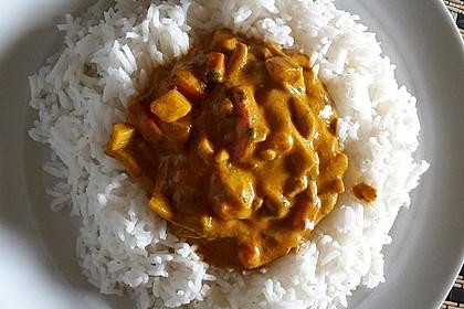 Einfaches veganes Curry (Bild)