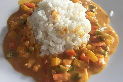 Einfaches veganes Curry 14