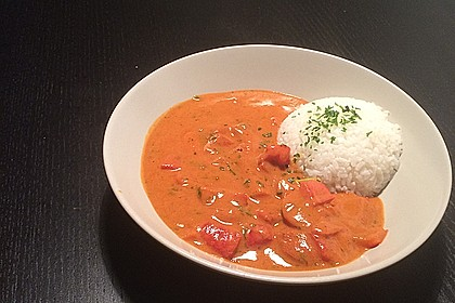 Einfaches veganes Curry 7