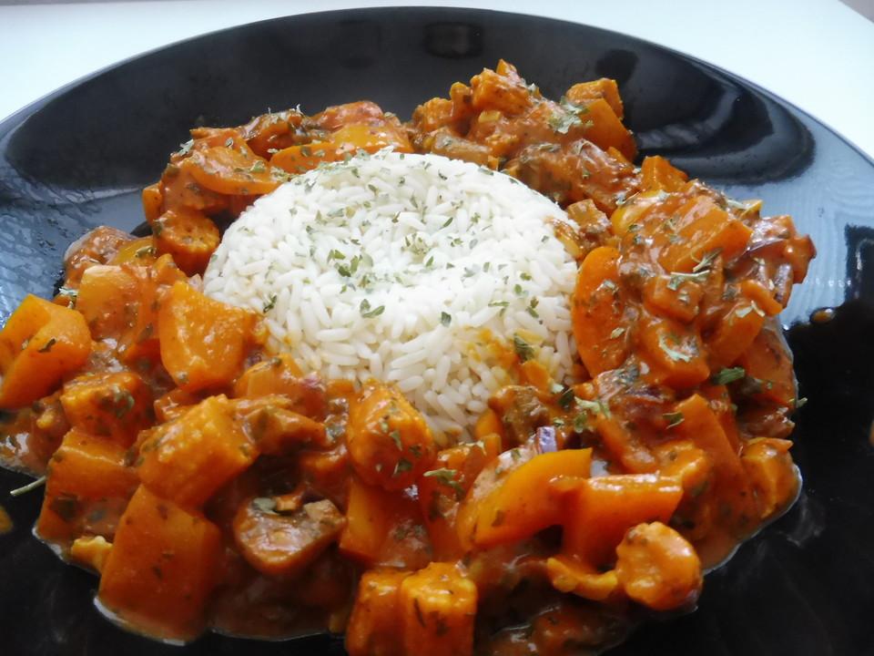 Leichte Vegane Sommerküche : Einfaches veganes curry von sarahp chefkoch