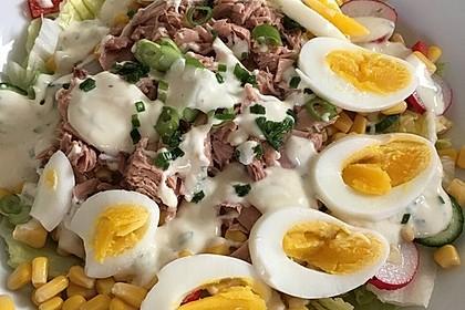 Chefsalat mit Thunfisch 11