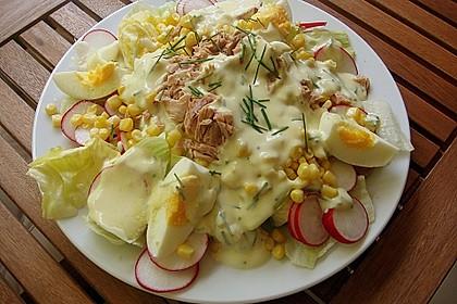 Chefsalat mit Thunfisch 1