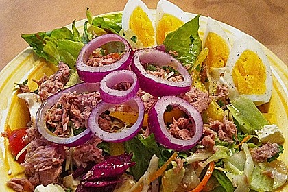 Chefsalat mit Thunfisch 6