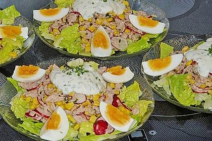 Chefsalat mit Thunfisch 9