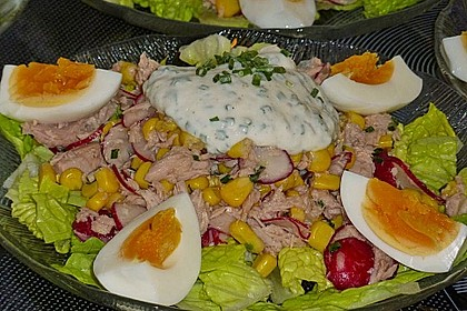 Chefsalat mit Thunfisch 5
