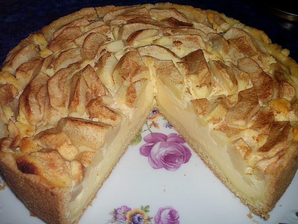 Apfel Quark Kuchen Mit Zucker Und Zimt Von Reise Tiger Chefkoch De