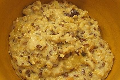 Pfirsich Porridge