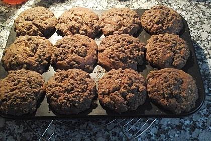 Bananen - Krümmel - Muffins