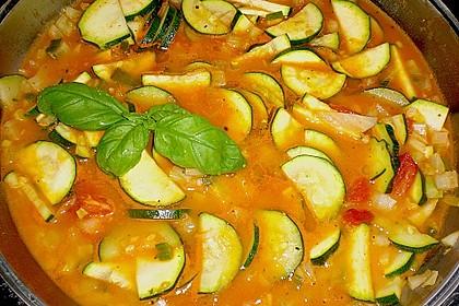 Zucchinisuppe 1