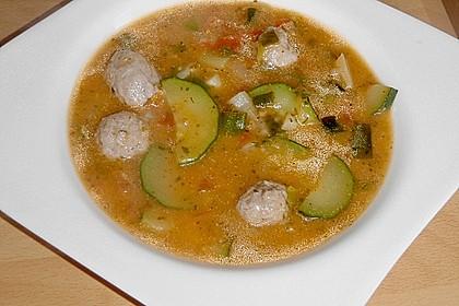 Zucchinisuppe 10