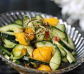 Gurken - Mango - Salat (Bild)