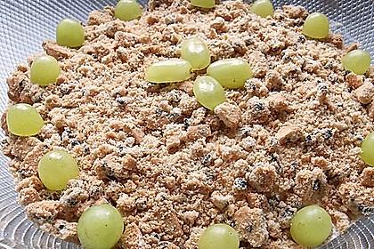 Schichtdessert mit Weintrauben 32