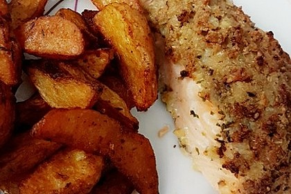 Fisch mit Knusperkruste 9