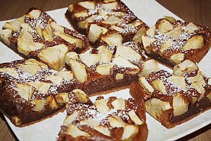 Schoko Apfel Kuchen Vom Blech Von Meiling Chefkoch De
