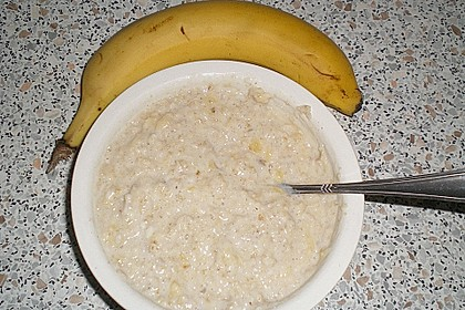 Bananen - Porridge 24