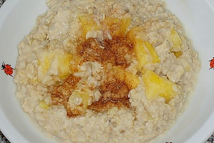 Bananen - Porridge 12