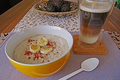 Bananen - Porridge 13