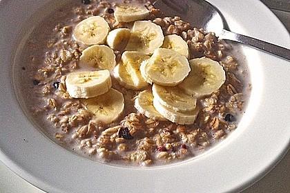 Bananen - Porridge