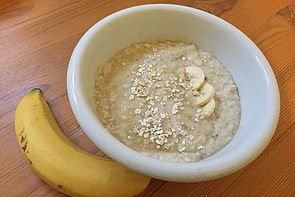 Bananen - Porridge 6