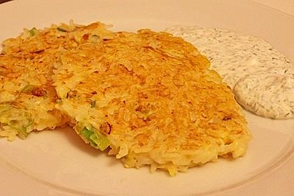 Reis - Käse - Puffer (Bild)
