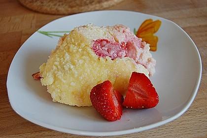 Cremiger Erdbeer - Quark - Auflauf 1
