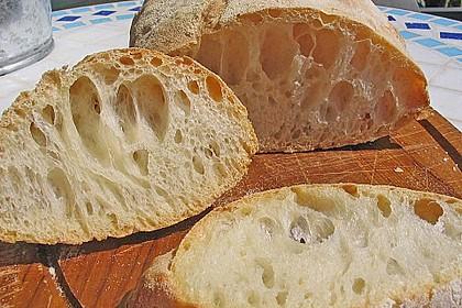 Ciabatta (1 großes od. 2 kleine Brote) 10