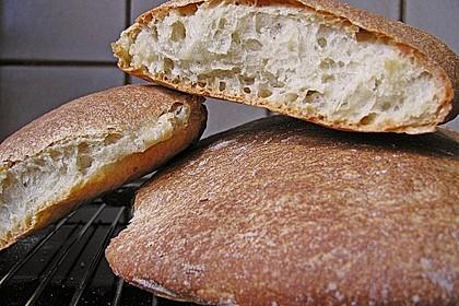 Ciabatta (1 großes od. 2 kleine Brote) 4