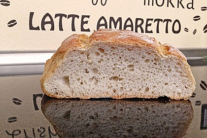 Ciabatta (1 großes od. 2 kleine Brote) 6