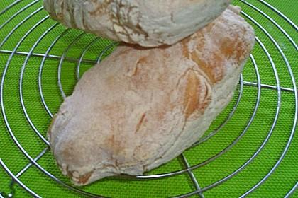Ciabatta (1 großes od. 2 kleine Brote) 26