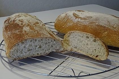 Ciabatta (1 großes od. 2 kleine Brote) 16