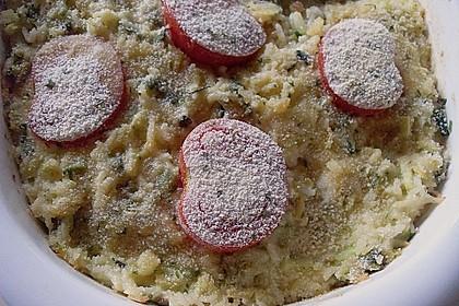 Reis - Tomaten - Gratin 1