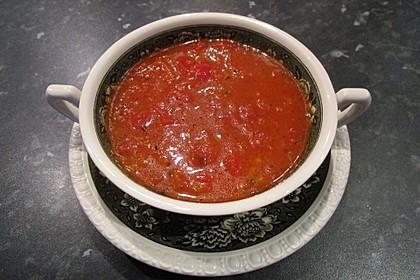 Einfache Paprika-Tomatensuppe 6