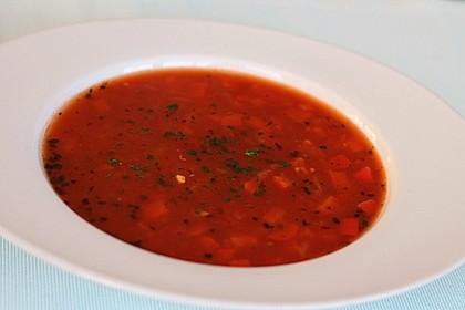 Einfache Paprika-Tomatensuppe 2
