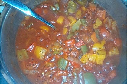 Einfache Paprika-Tomatensuppe 9