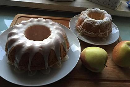 Apfel - Eierlikör Kuchen 7