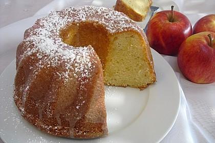 Apfel - Eierlikör Kuchen 1