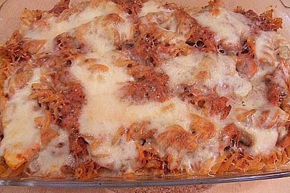 Julies Nudel - Gemüse - Tomaten - Auflauf 21