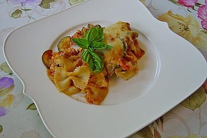 Julies Nudel - Gemüse - Tomaten - Auflauf 1