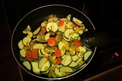 Julies Nudel - Gemüse - Tomaten - Auflauf 22