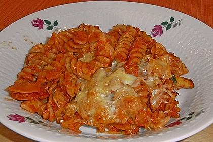 Julies Nudel - Gemüse - Tomaten - Auflauf 8