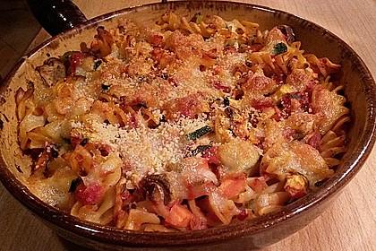 Julies Nudel - Gemüse - Tomaten - Auflauf 10