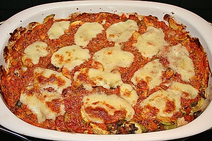 Julies Nudel - Gemüse - Tomaten - Auflauf 6