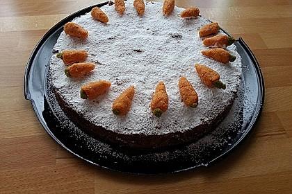 (Blitz) - Möhrenkuchen ohne Ei 6