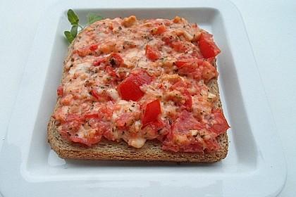 Tomaten - Mozzarella - Bruschetta