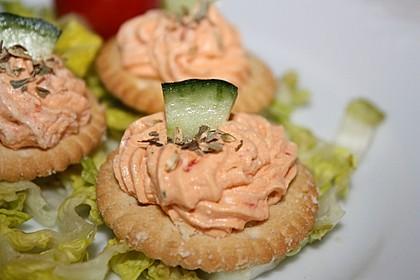 Pesto Rosso - Frischkäse - Dip