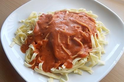 Spaghetti mit italienischer Tomatensauce 2